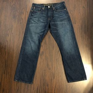 American Eagle jeans relaxed straight 32X 30